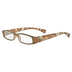 Sight Station - Woodstock brown fashion reading glasses