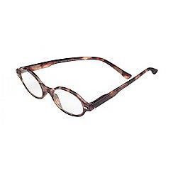 Sight Station - Jamie tortoise fashion reading glasses