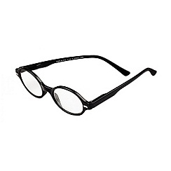 Sight Station - Jamie black fashion reading glasses
