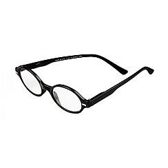 Sight Station - Jamie black fashion reading glasses