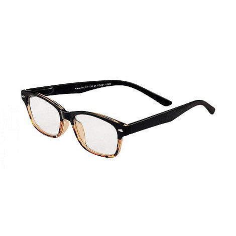 Sight Station - Kieran black tortoise fade fashion reading glasses