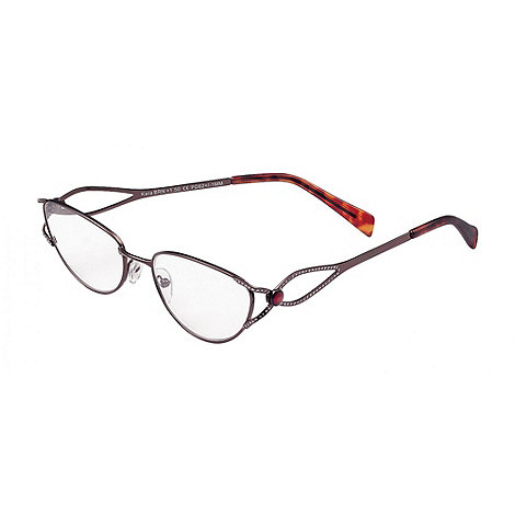Sight Station - Kara brown fashion reading glasses