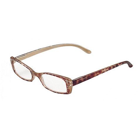 Sight Station - Scarlett dark tortoise fashion reading glasses