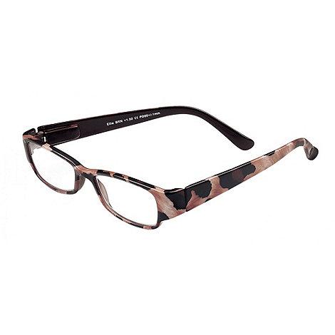 Sight Station - Ellie brown fashion reading glasses