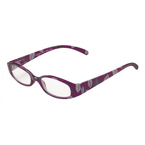 Sight Station - Katie purple fashion reading glasses