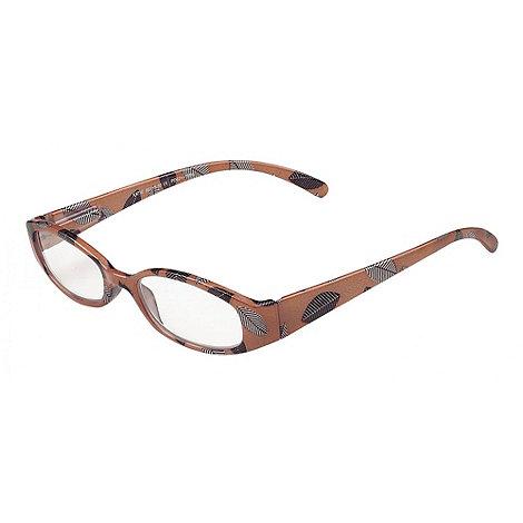 Sight Station - Katie beige fashion reading glasses