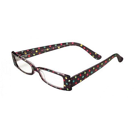 Sight Station - Paige black fashion reading glasses
