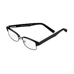 Sight Station - Rob black fashion reading glasses