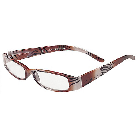 Sight Station - Eloise brown and black fashion reading glasses