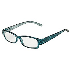 Sight Station - Bronwyn teal fashion reading glasses