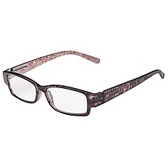 Sight Station - Bronwyn burgundy fashion reading glasses
