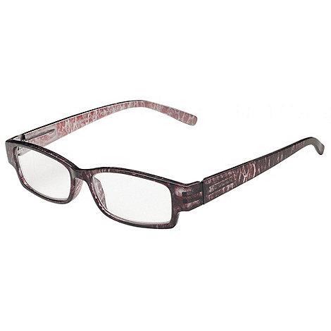 Sight Station - Bronwyn burgundy fashion reading glasses