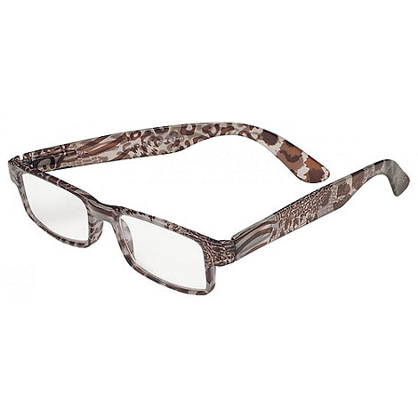Sight Station - Tilly brown fashion reading glasses