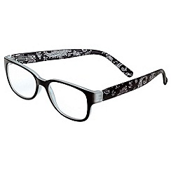 Sight Station - Elena black fashion reading glasses