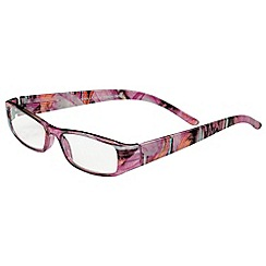 Sight Station - Erin pink fashion reading glasses
