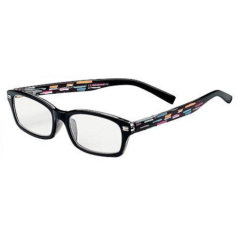 Sight Station - Chris black multi fashion reading glasses