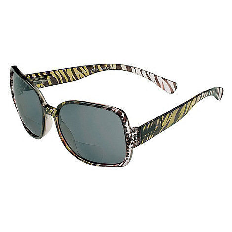 Sight Station - Joyce clear and black reading sunglasses - two in one sunglasses and reading glasses