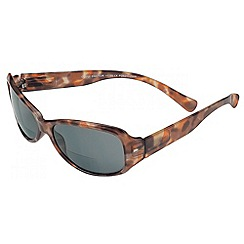 Sight Station - Cheryl demi tortoiseshell reading sunglasses - two in one sunglasses and reading glasses