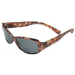 Sight Station - Cheryl demi tortoiseshell reading sunglasses - two in one sunglasses and reading glasses