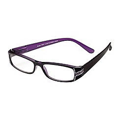 Sight Station - Susan purple fashion reading glasses