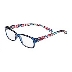 Sight Station - Makayla navy tribal fashion reading glasses