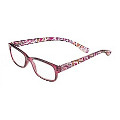 Sight Station - Makayla purple tribal fashion reading glasses