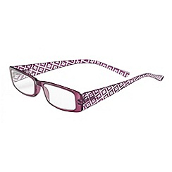 Sight Station - Nicole purple fashion reading glasses