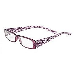 Sight Station - Nicole purple fashion reading glasses