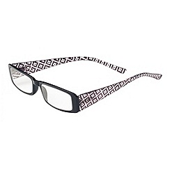 Sight Station - Nicole black fashion reading glasses