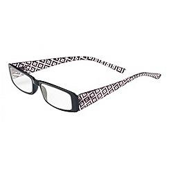 Sight Station - Nicole black fashion reading glasses