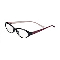 Sight Station - Alexandra red lace fashion reading glasses