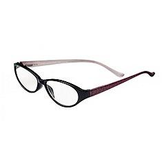 Sight Station - Alexandra red lace fashion reading glasses