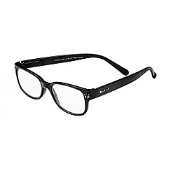 Sight Station - Stella black rhinestone fashion reading glasses