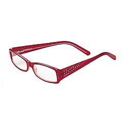 Sight Station - Katherine red rhinestone fashion reading glasses