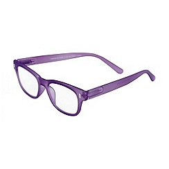 Sight Station - Emerson purple matte fashion reading glasses