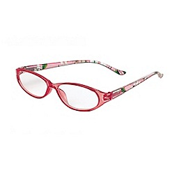 Sight Station - Annabelle pink dogwood fashion reading glasses