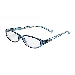 Sight Station - Annabelle blue dogwood fashion reading glasses