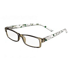 Sight Station - Julie olive dogwood fashion reading glasses