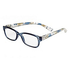 Sight Station - Maya blue tropical fashion reading glasses