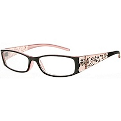 Sight Station - Botanica ebony fashion reading glasses