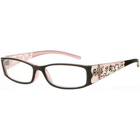 Sight Station - Botanica ebony fashion reading glasses