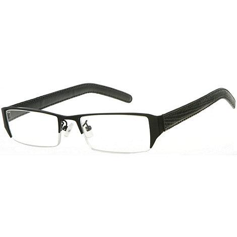 Sight Station - Burlington black fashion reading glasses