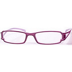 Sight Station - Cameo purple fashion reading glasses