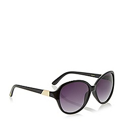 Dune - Black 'Gwen' oval sunglasses