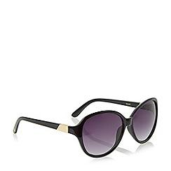 Dune - Black 'Gwen' oval sunglasses