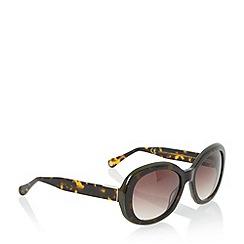 Dune - Khaki 'Gemini' tortoiseshell sunglasses