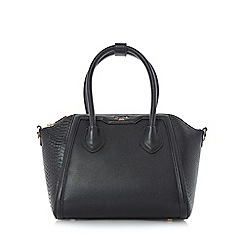 Dune - Black 'Dinessy' winged top handle bag