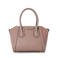 Dune - Pink 'Dinidinessy' mini winged top handle bag