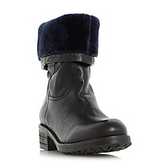 Dune - Black 'Roderik' warm lined calf boot