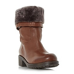 Dune - Tan 'Roderik' warm lined calf boot